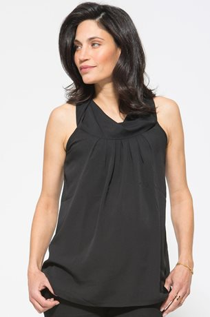 Picture of Cowl Neck Halter Top Black
