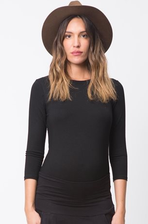 Picture of Basic Maternity Top 3/4 sleeve