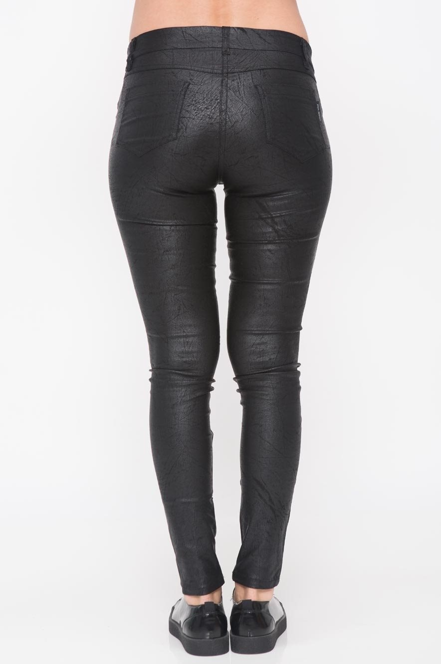 Picture of Faux Leather Premium Skinny Pants