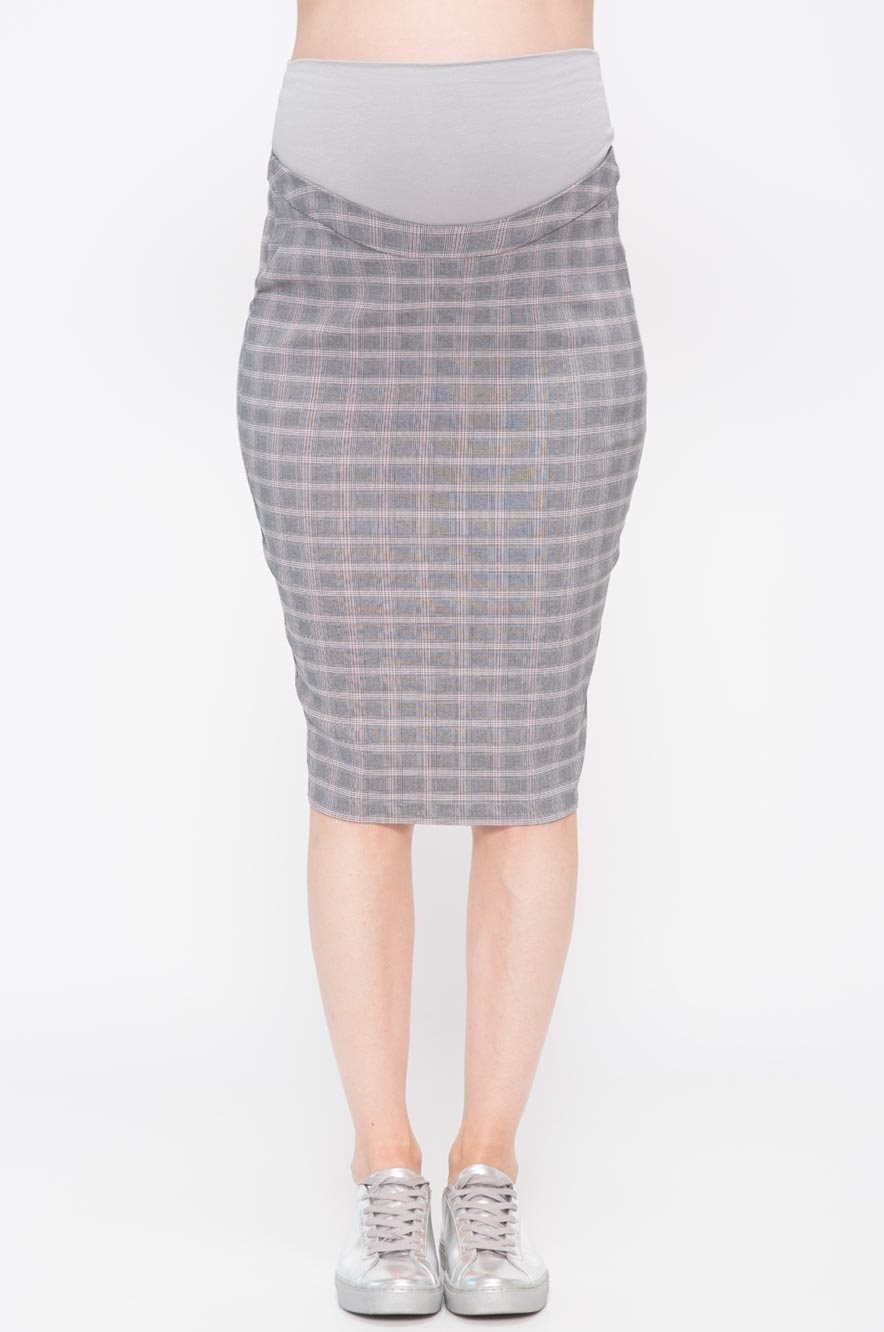 Picture of Lilian check Skirt