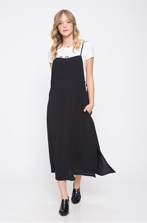Picture of Maya Pinafore Black