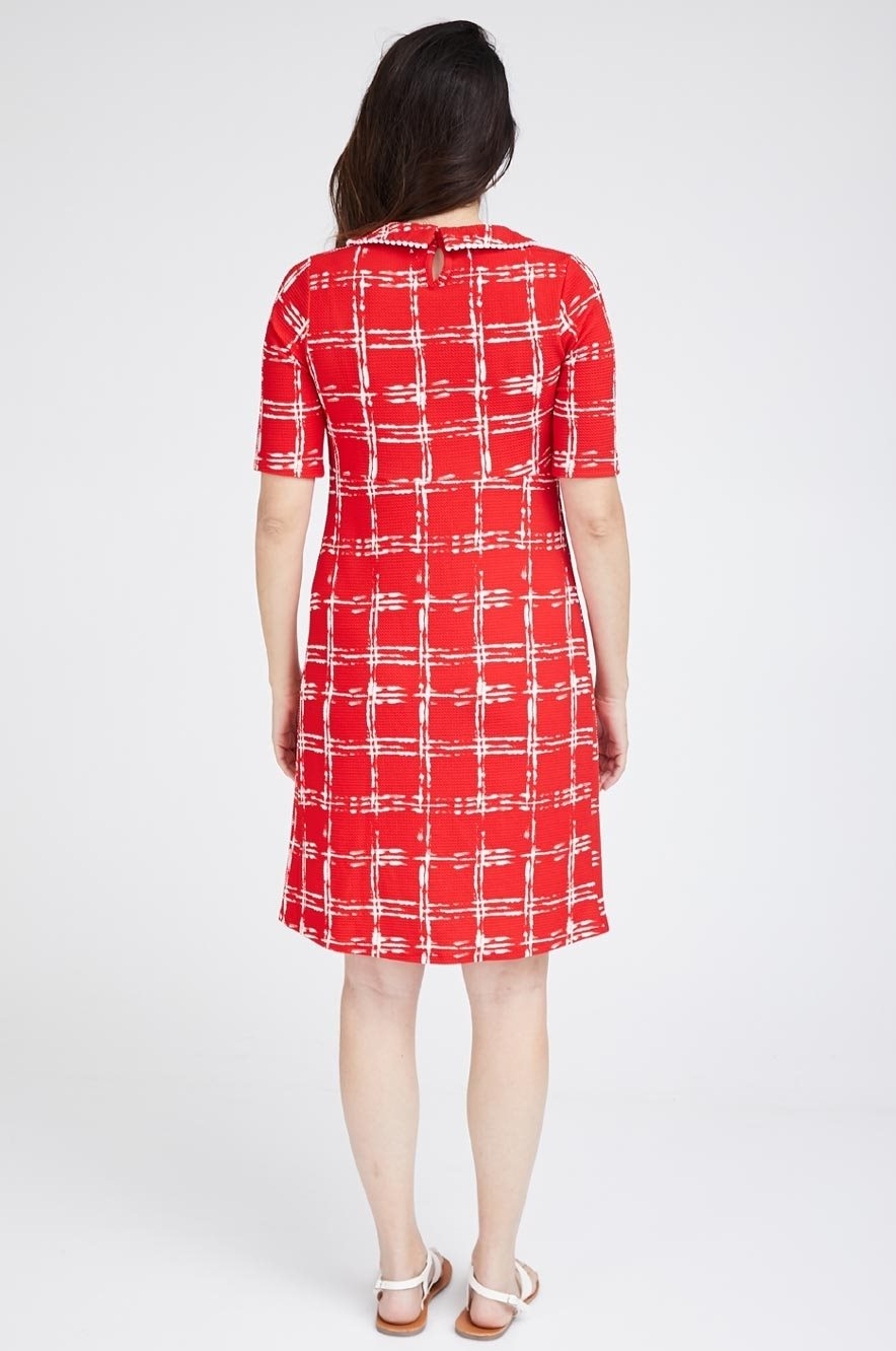 Picture of LAURA DRESS RED