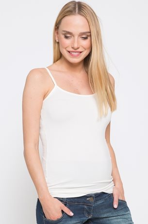Picture of Spaghetti Strap Cami Tank Off White