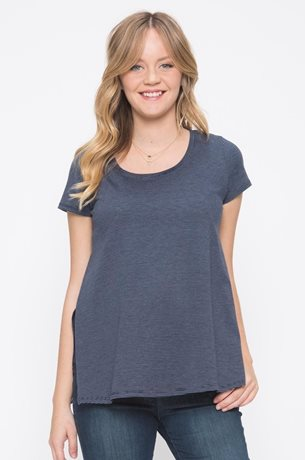 Picture of Layered Nursing Tee  Navy