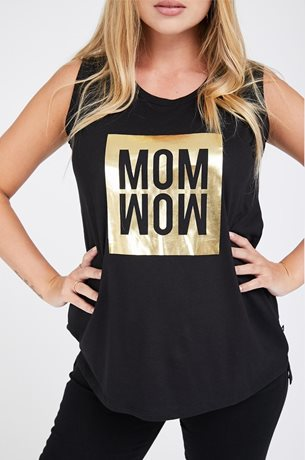 Picture of Momwow Maternity Top Black