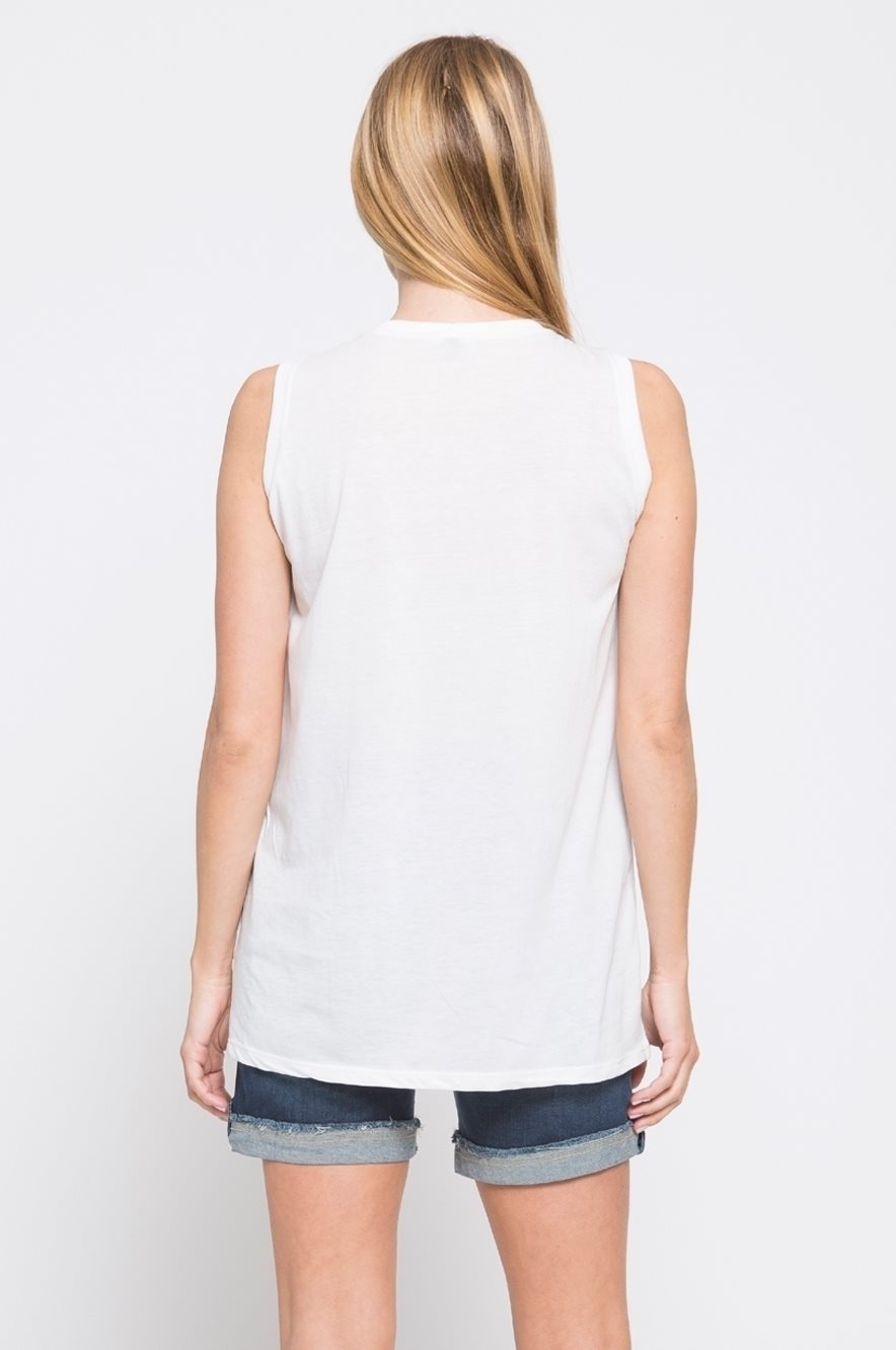 Picture of Momwow Maternity Top White