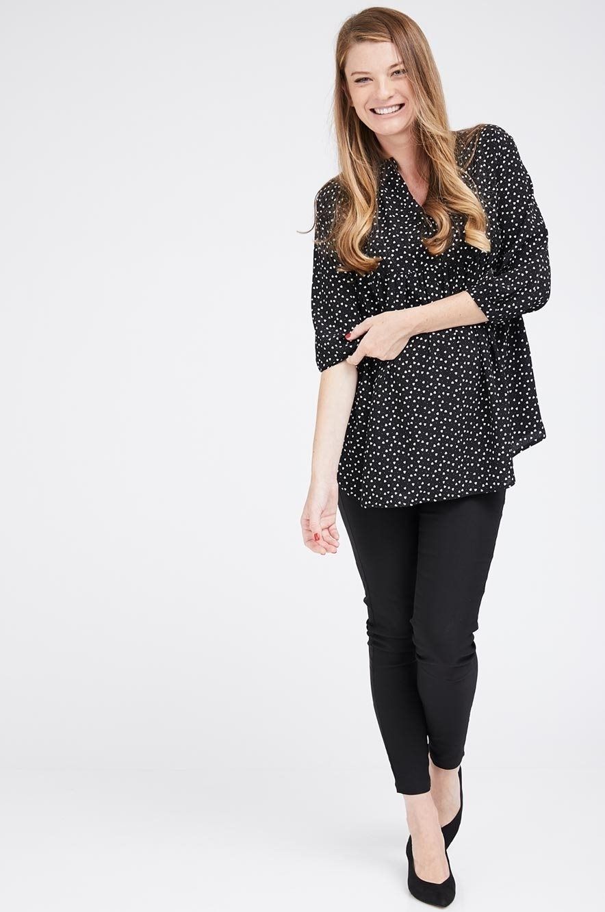 Picture of ZOHARA BLOUSE BLACK