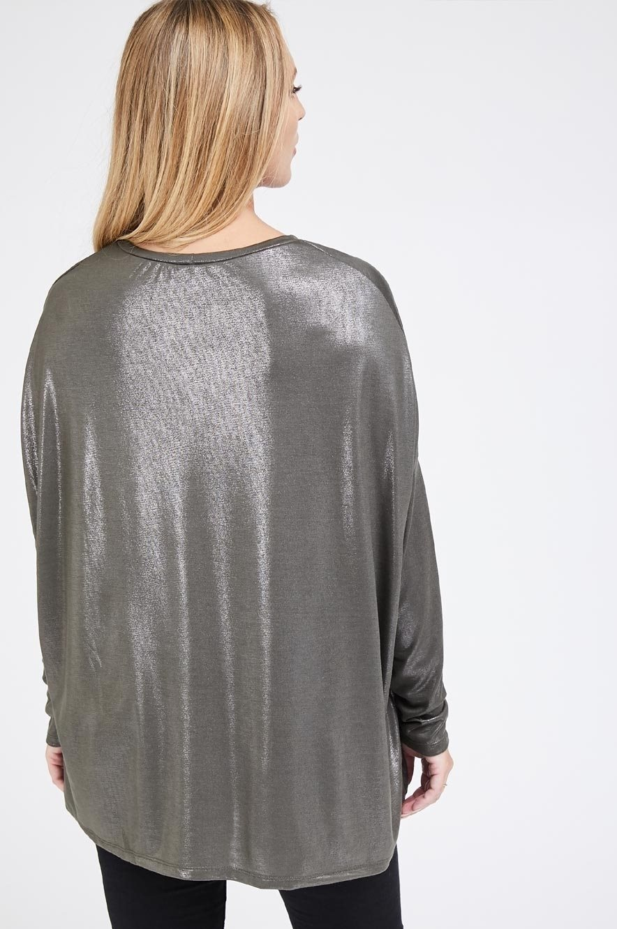 Picture of Kim Blouse Metallic Olive