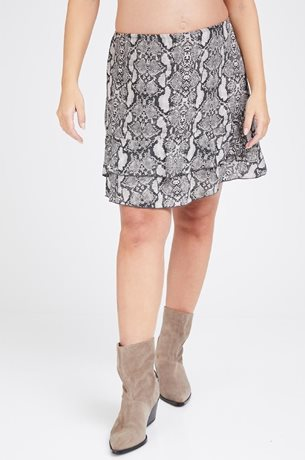 Picture of Daniel Miniskirt Light Snake print