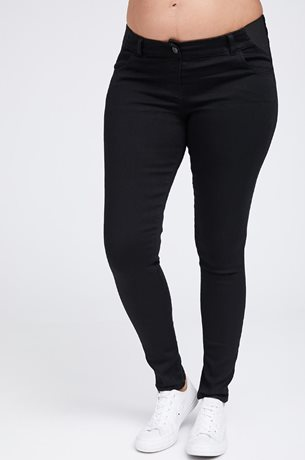 Picture of Super Stretch Premium Skinny Jeans Black
