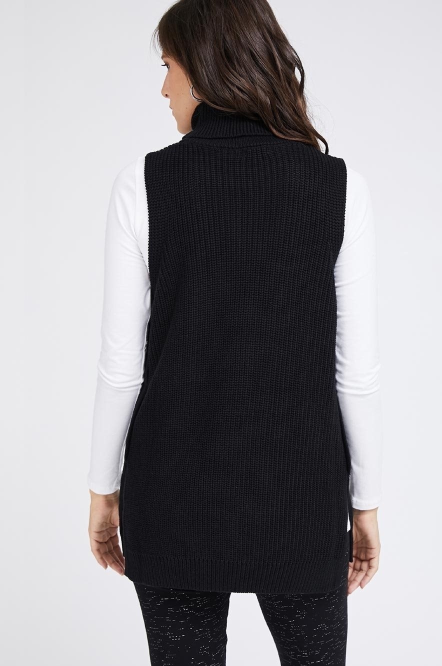 Picture of Anna Knit Vest Black