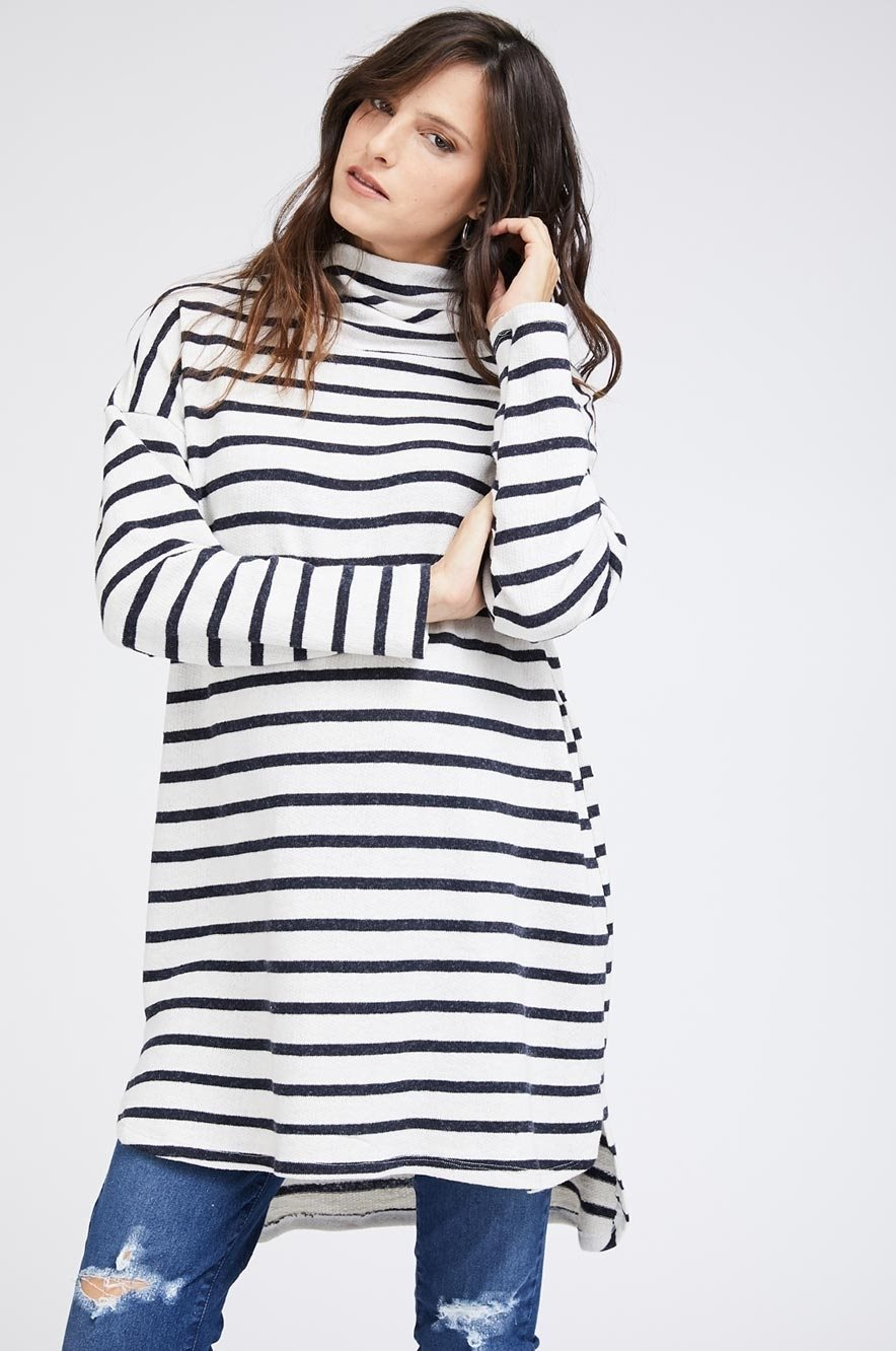Picture of Margo Tunic Blue Stripes