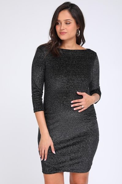 Picture of Mirray Dress Black Lurex