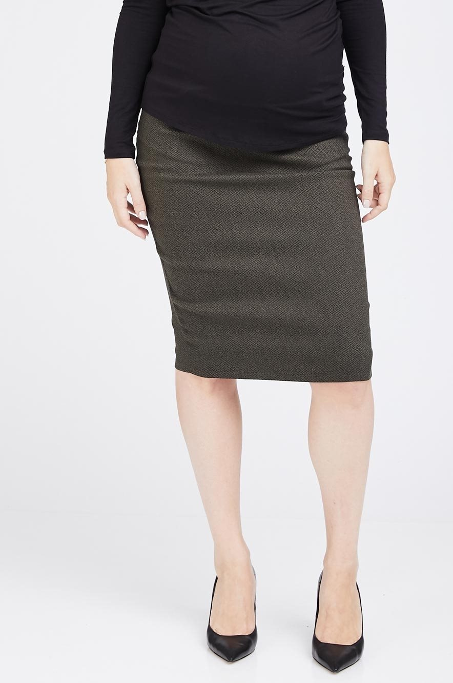 Picture of Olivia Skirt Olive Green