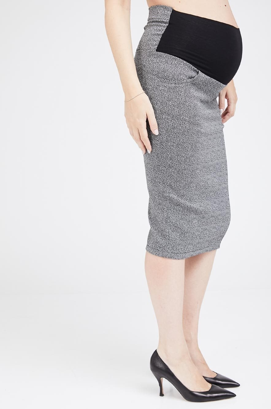 Picture of Olivia Skirt Black and White