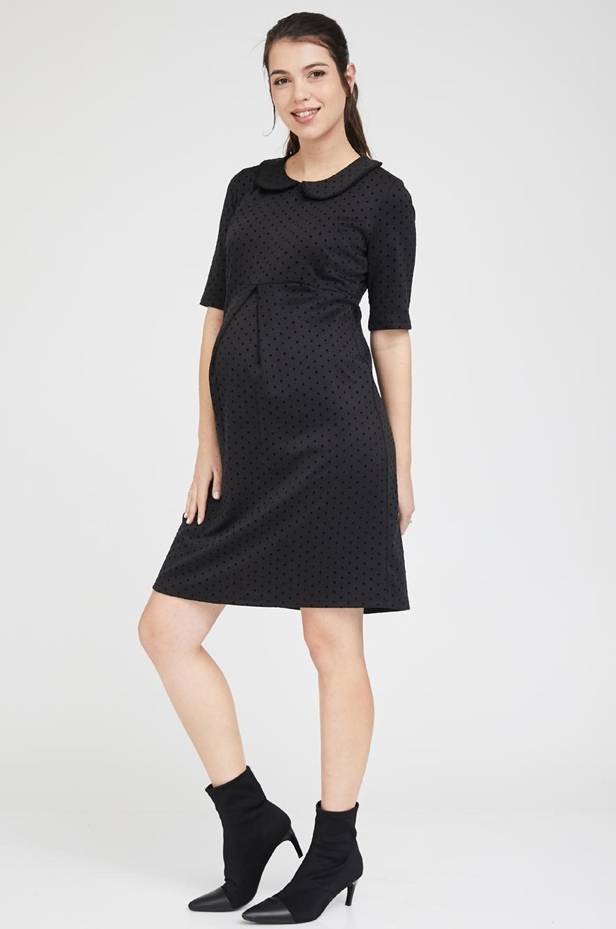 Picture of Laura Dress Black Dots