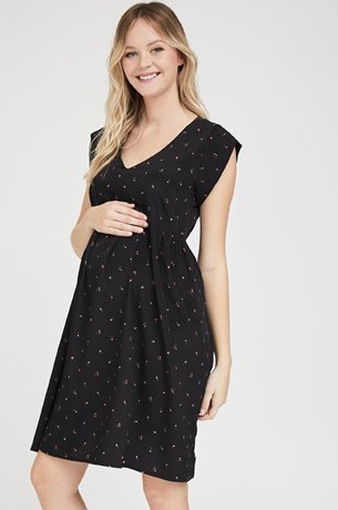 Picture of Sarai dress Black print
