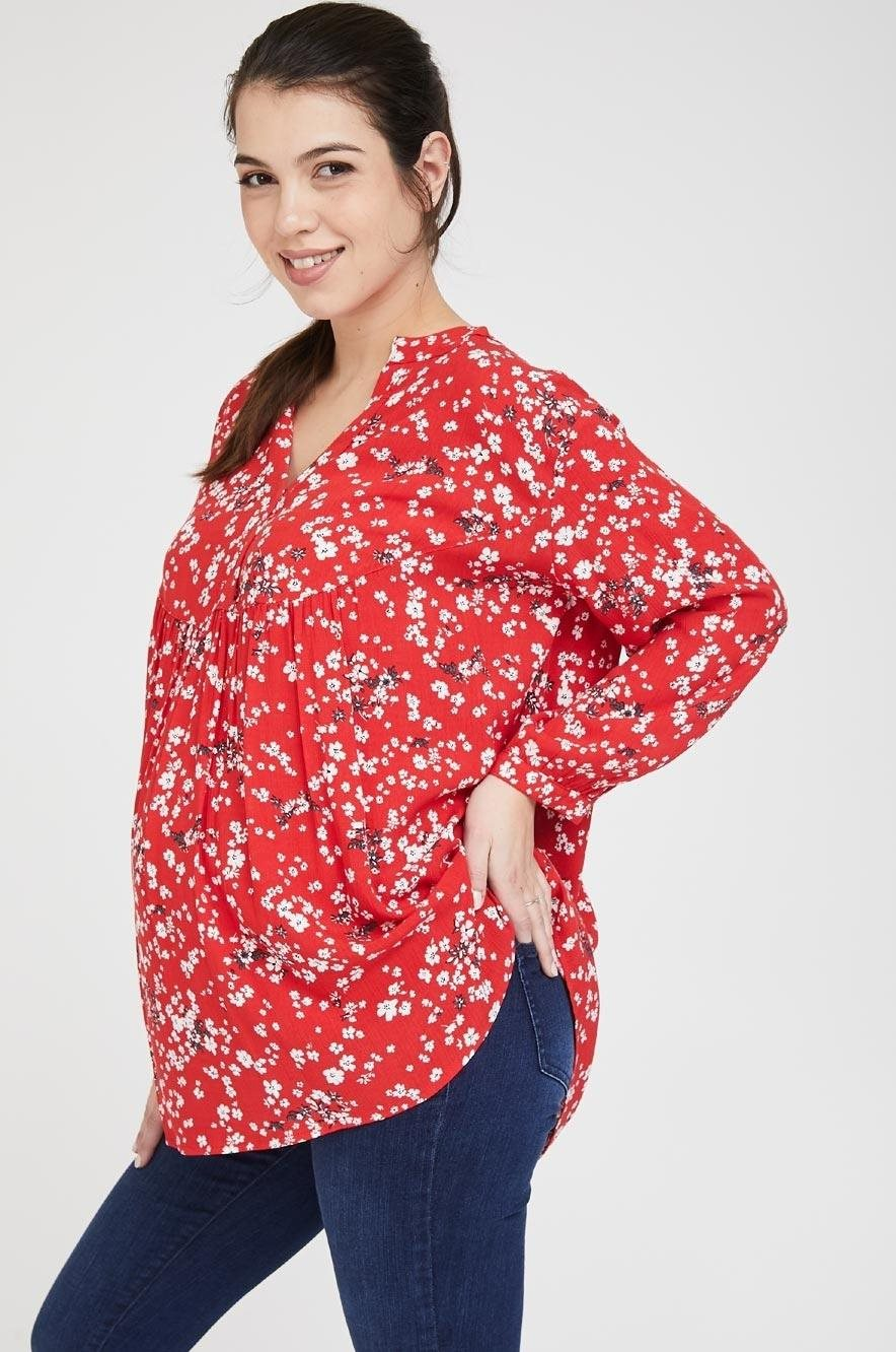 Picture of Zohara blouse Red floral