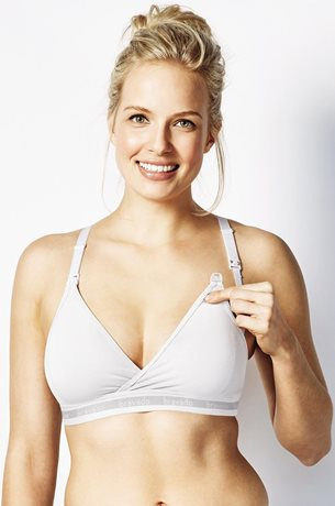 Picture of BRAVADO ORIGINAL  Nursing Bra White