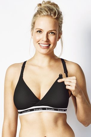 Picture of BRAVADO ORIGINAL Nursing Bra Black