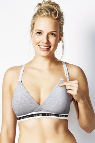 Picture of BRAVADO ORIGINAL Nursing Bra Grey
