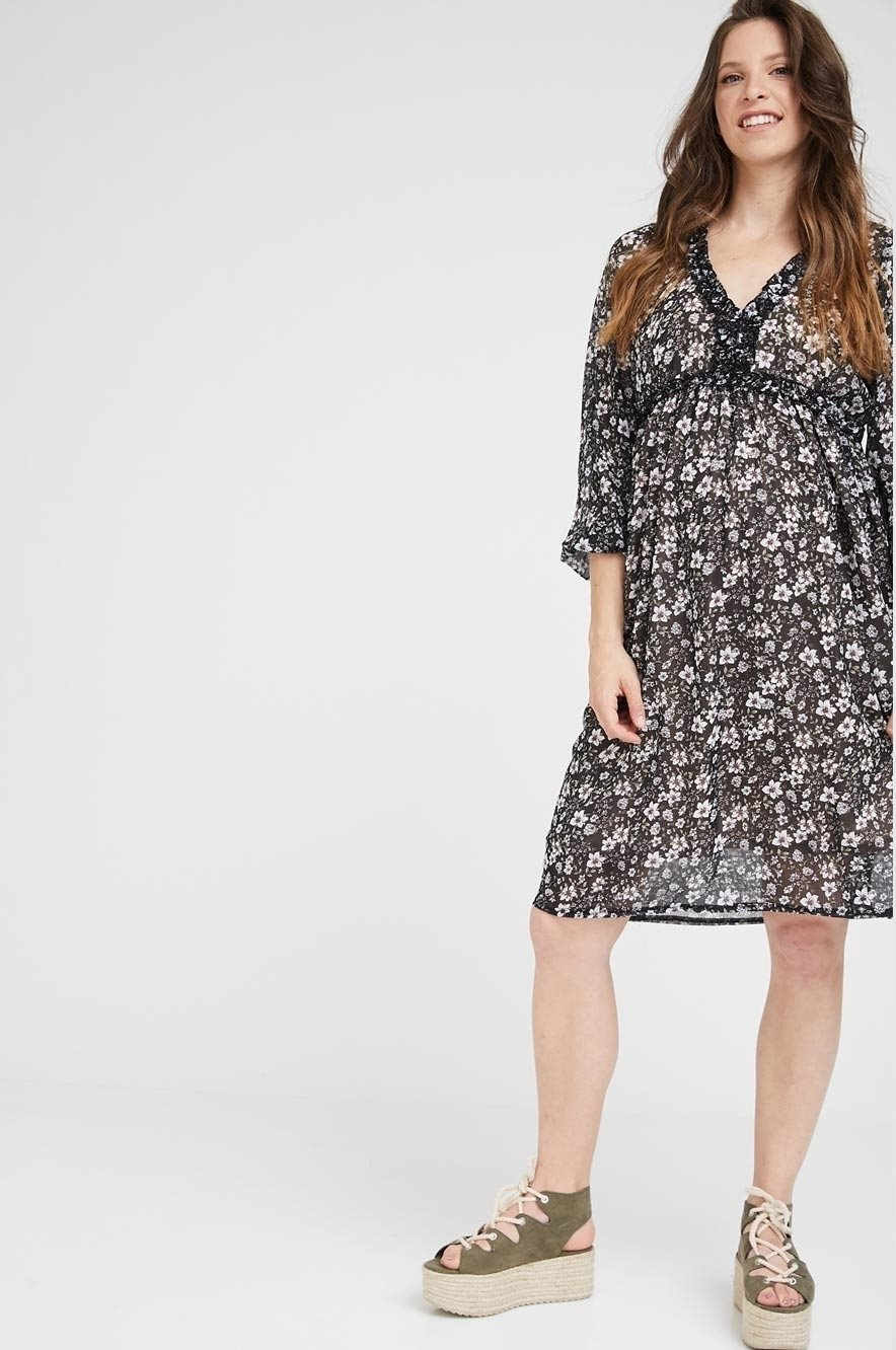 Picture of Liliya Dress Black Floral