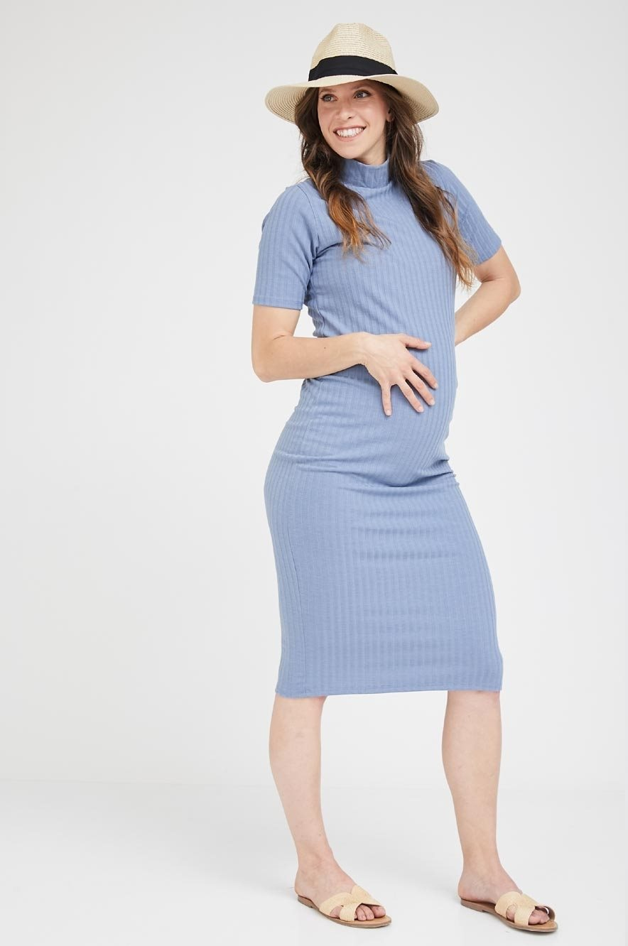 Picture of Liz Dress S.sleeve Blue