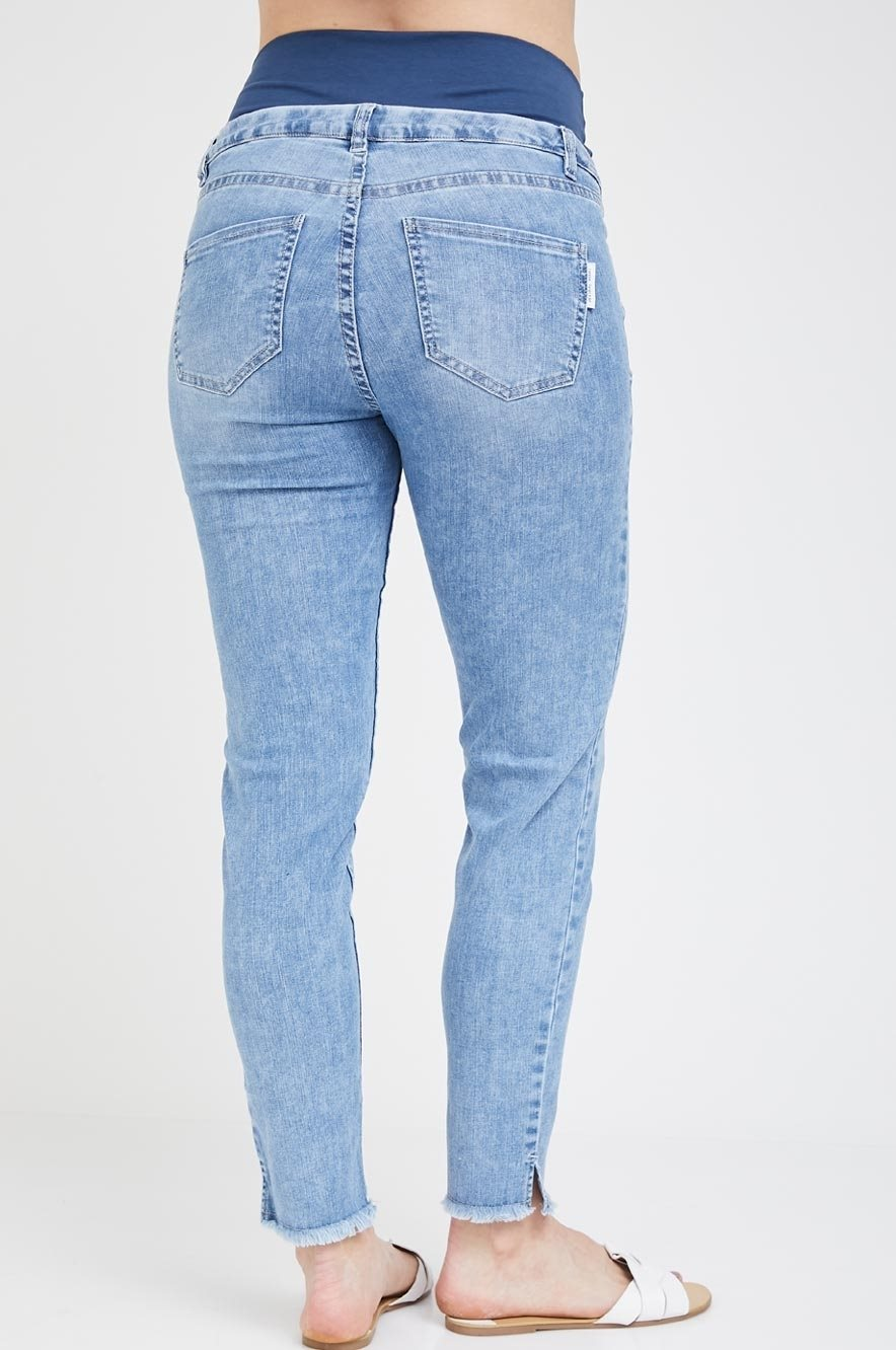 Picture of Mom Skinny Jeans Blue