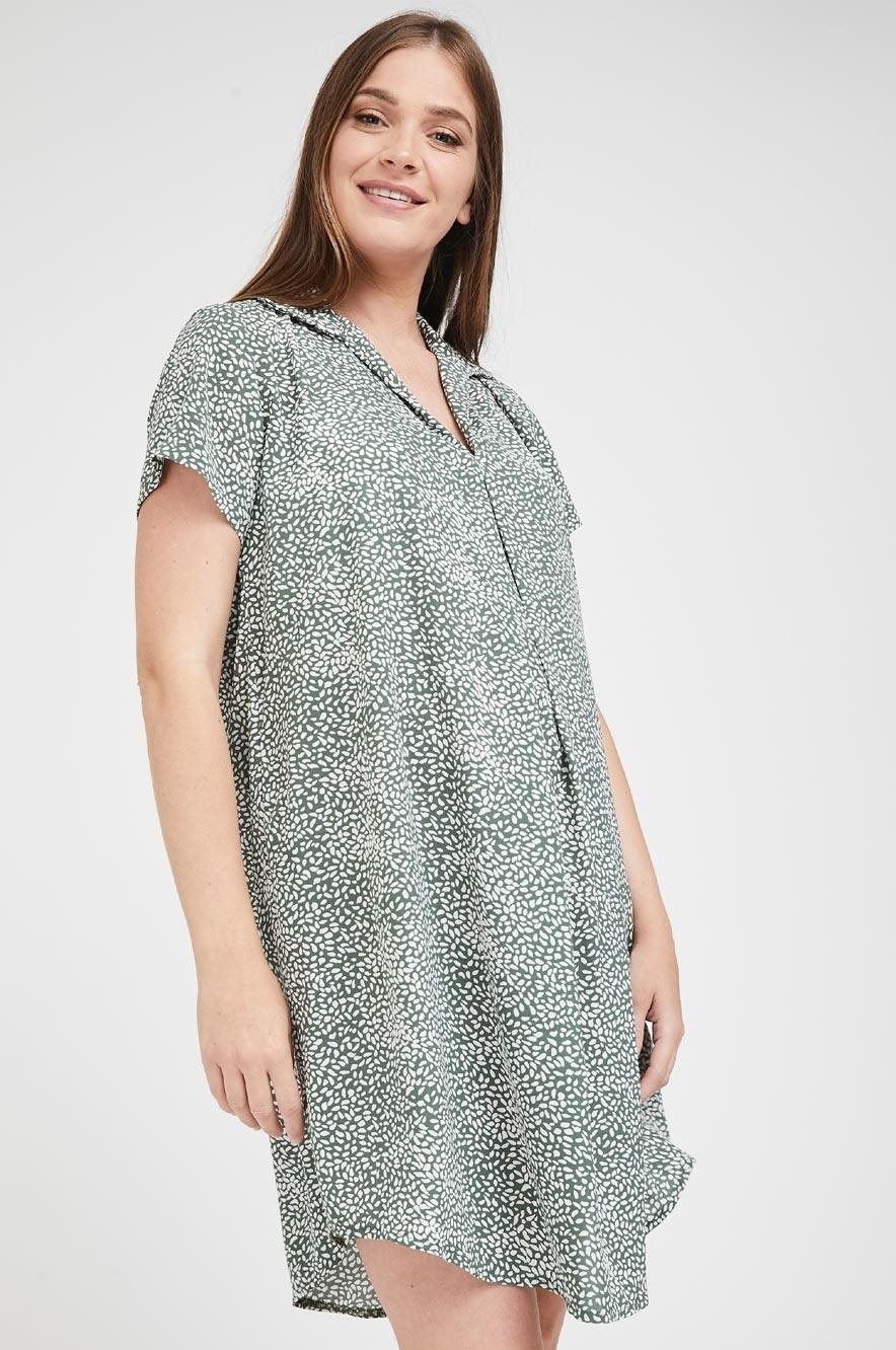 Picture of Maggie dress Green Print