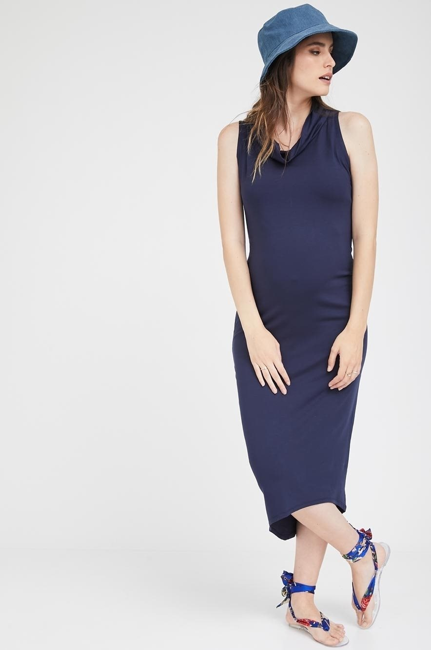 Picture of Gal Maxi Dress Navy