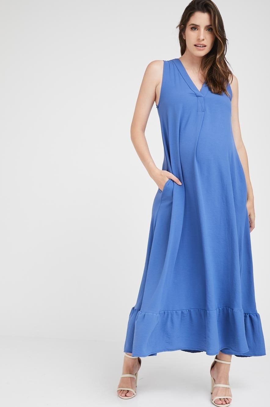 Picture of Coral Dress Blue