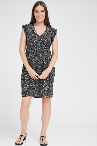 Picture of Sarai dress Black Floral