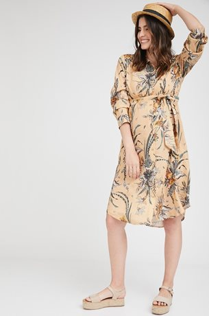 Picture of Rome shirt-dress Desert Sand