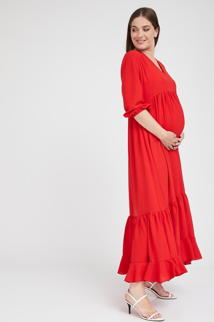 Picture of Casandra Dress Red