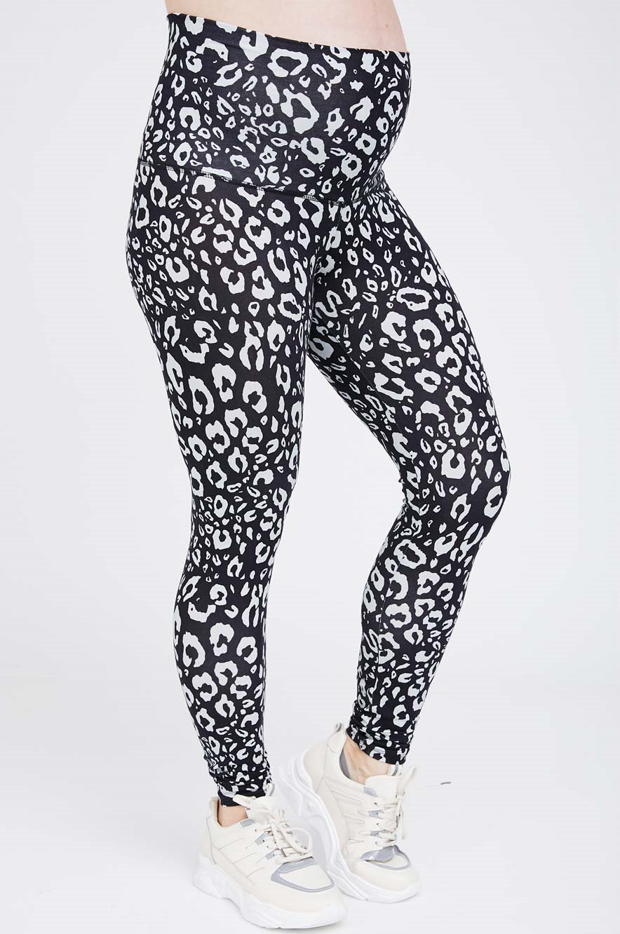 Picture of Maternity Leggings Leopard print