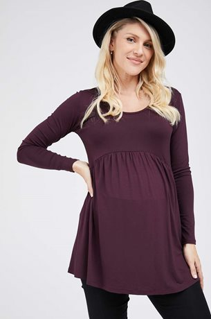 Picture of River Tunic L.sleeve Dark Purple