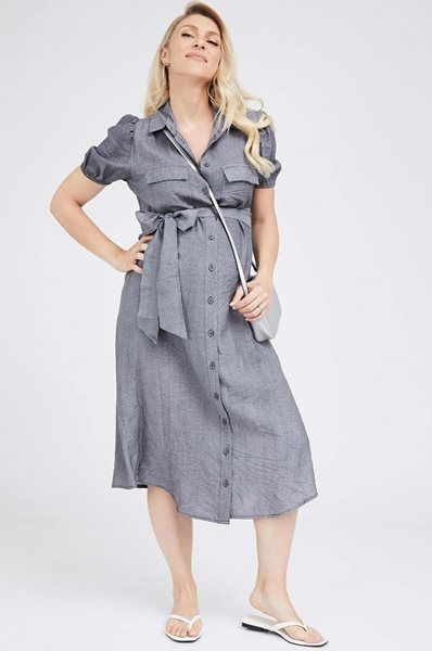 Picture of Marieanna Dress Grey