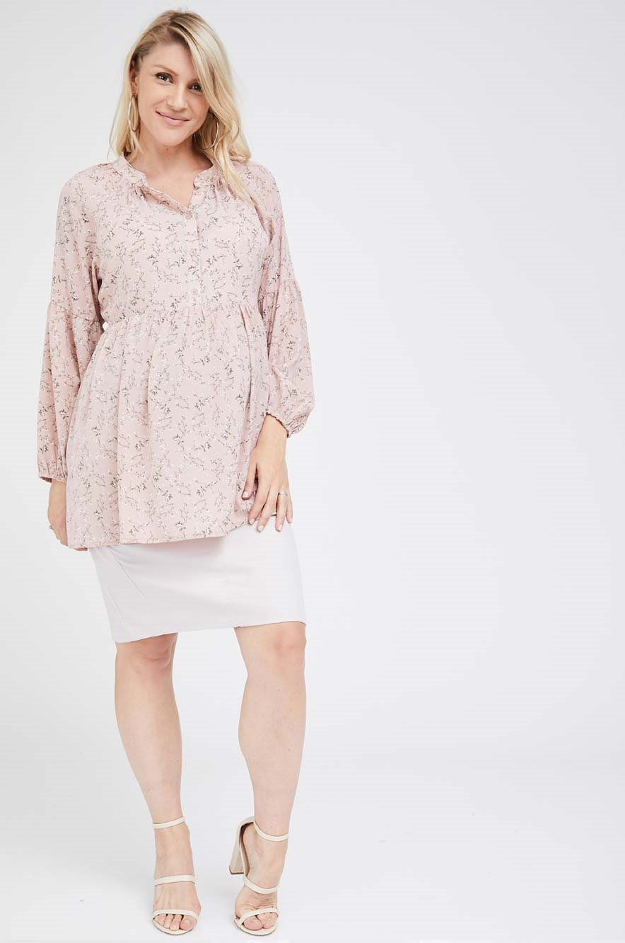Picture of Katie Top Pink Floral