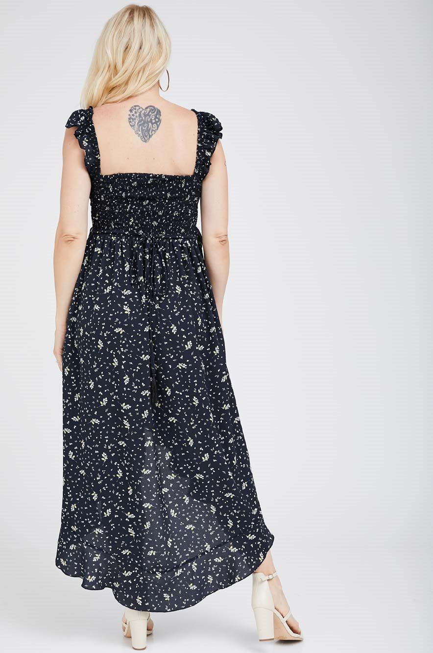 Picture of Kaia Dress Navy Blue
