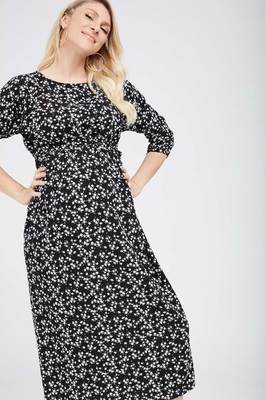 Picture of Maayan Dress Black Floral