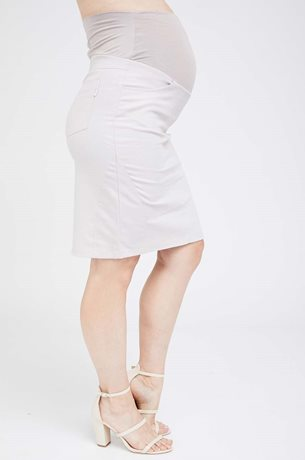 Picture of Roxy Maternity Skirt Beige
