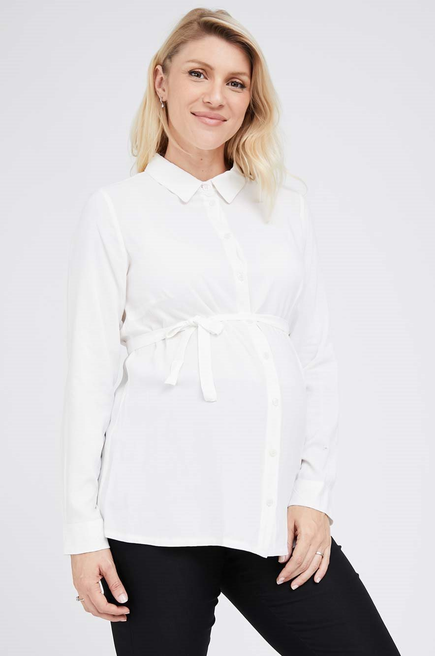 Picture of Button Through Blouse White