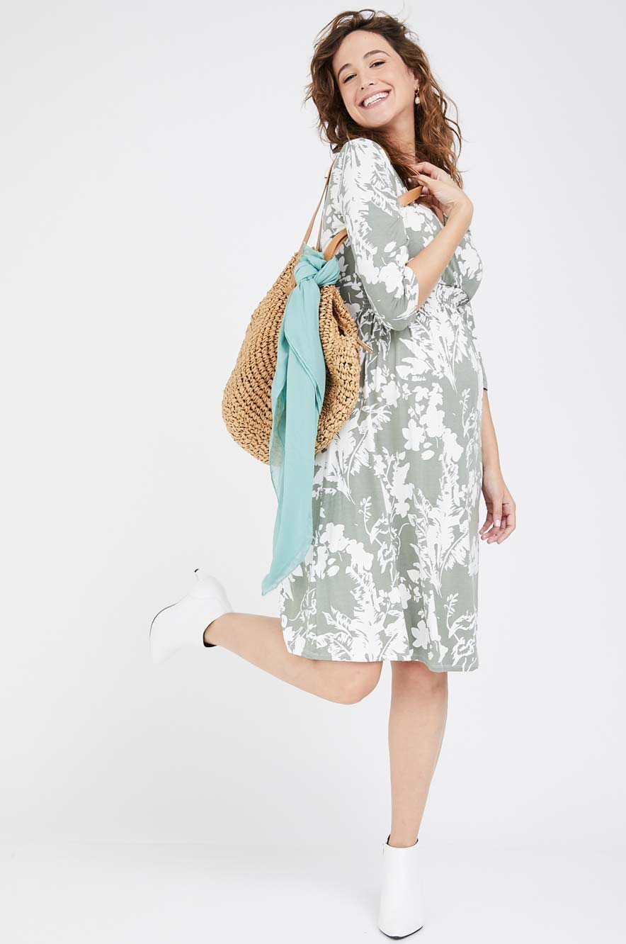 Picture of Sahar Dress Green Florals