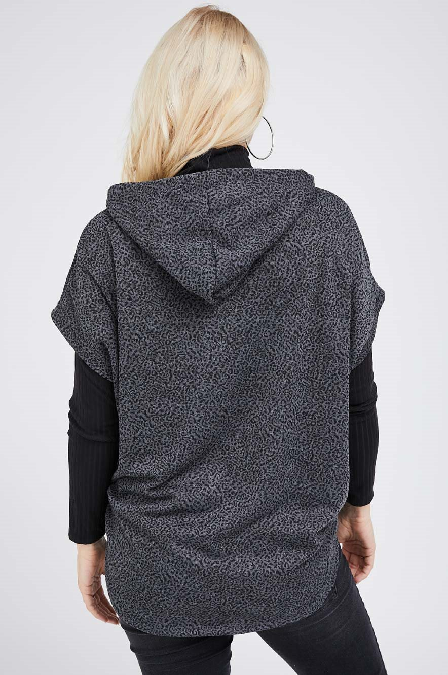 Picture of Betsy Hoodie Gray print