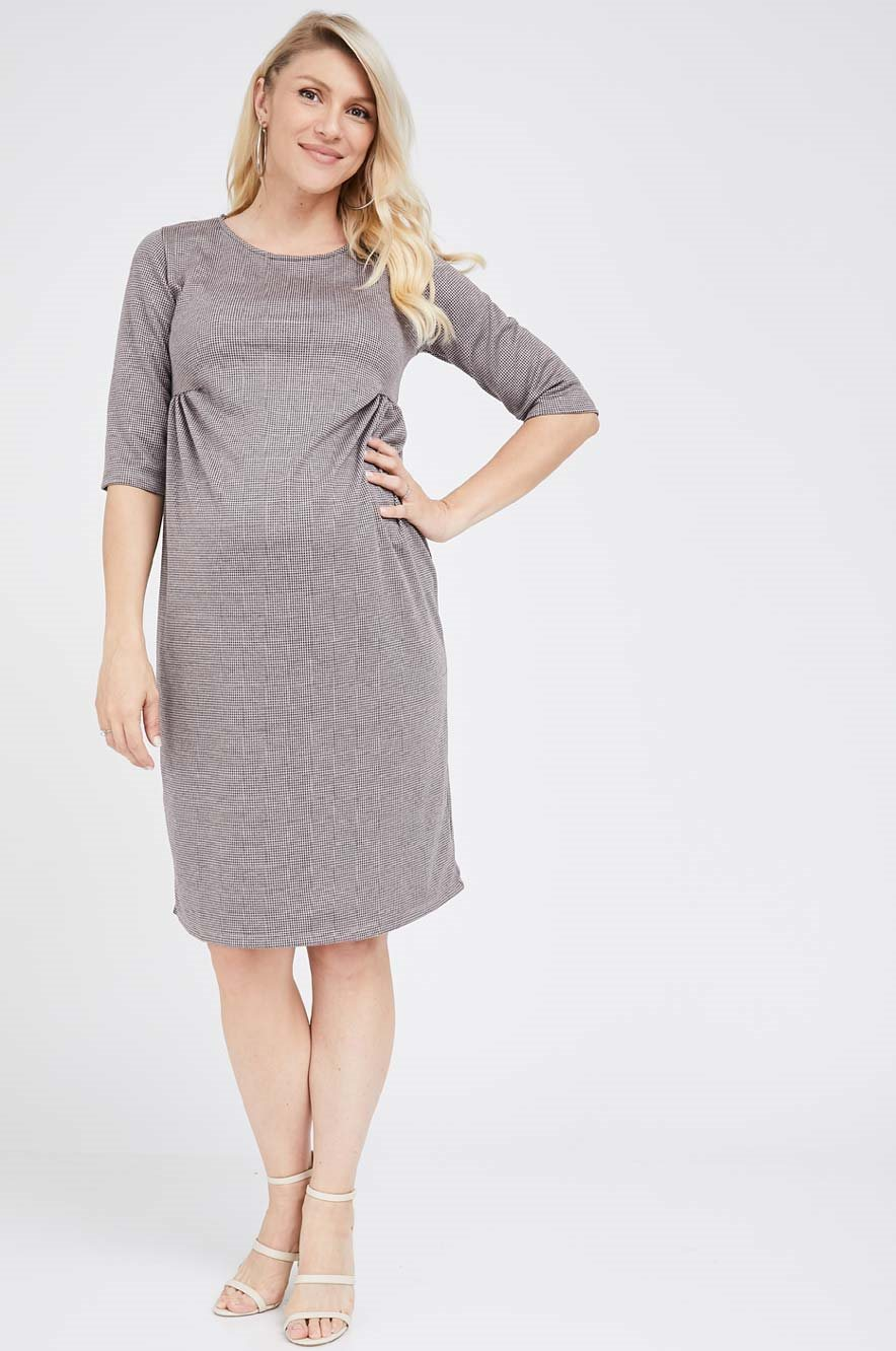 Picture of Eliana Dress Mouve Print