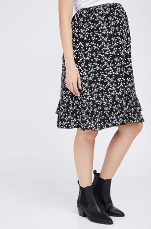 Picture of Asia Skirt Black Floral