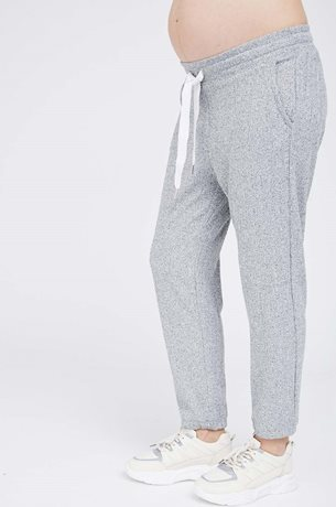 Picture of Netflix & Chill Maternity Pants Grey