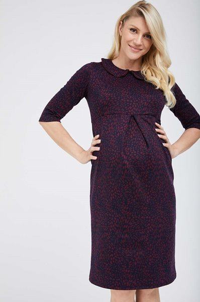 Picture of Gabriella Maternity Dress Navy