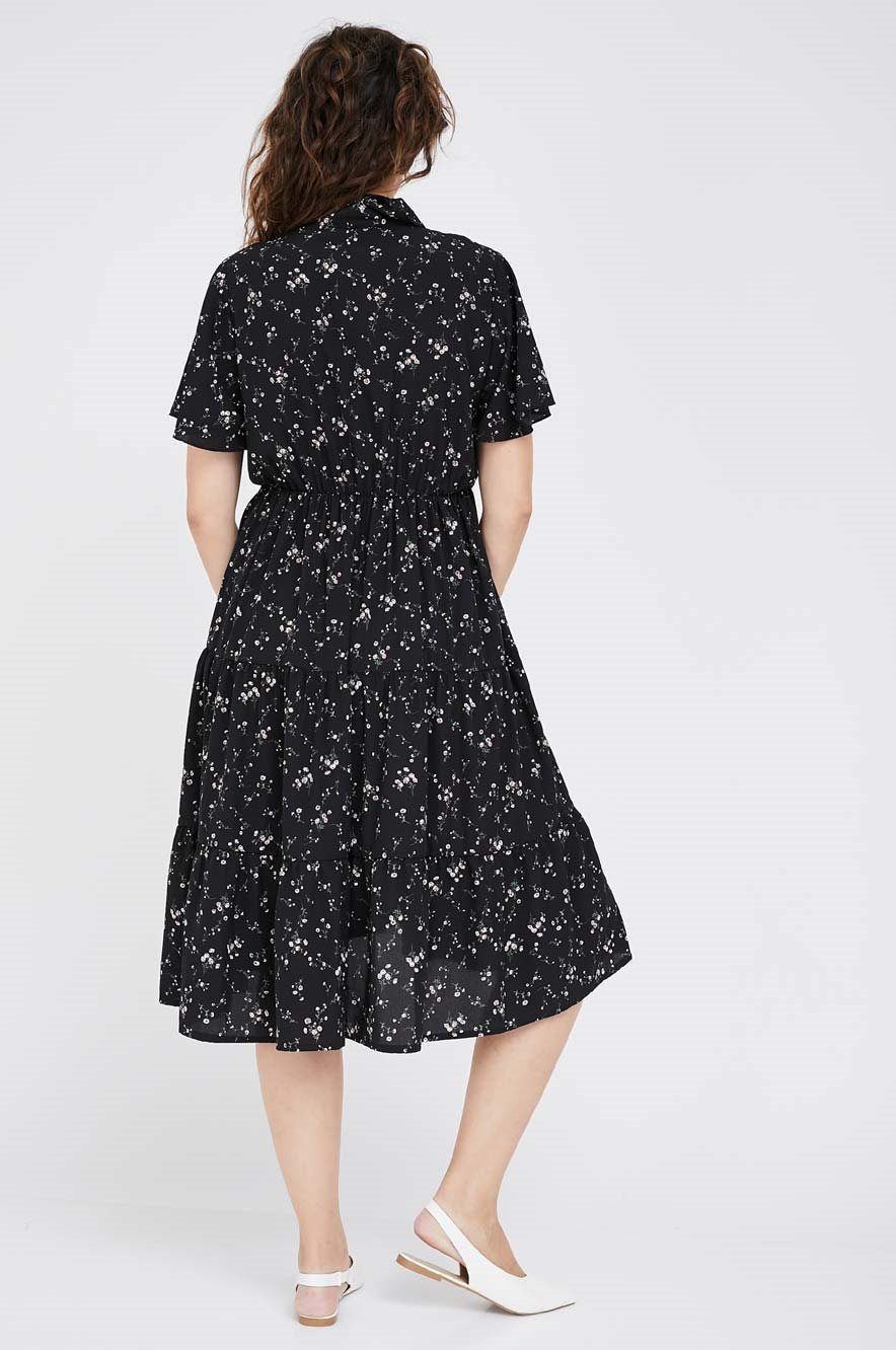 Picture of Melody Dress Black Floral