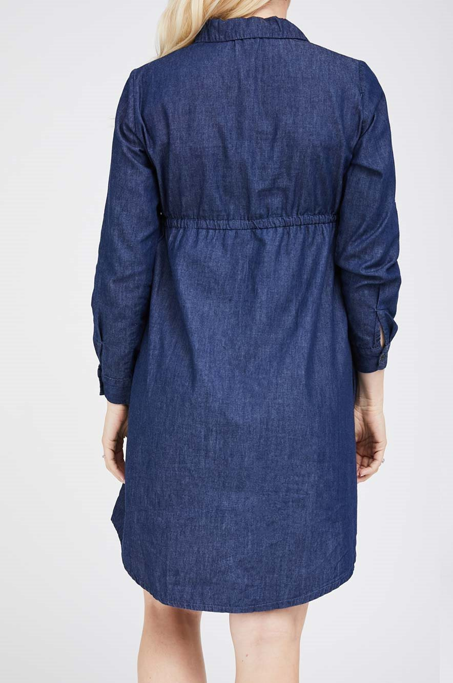 Picture of Trixi Denim Maternity Dress